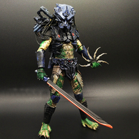 SAINTGI Alien vs Predator toy Mixed human AVP ABS 20cm Model Collectie kids MOVIE Brinquedos Series Scar Sci-Fi Film Lone Wolf
