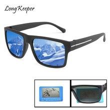 Longkeeper Luxury Brand Square Sunglasses Polarized Men Mirror Driving Glasses Women Retro Anti-glare UV400 Gafas de