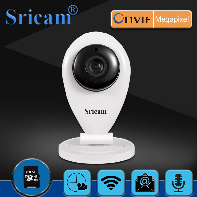 Sricam SP009 HD 720P Wireless Wifi IP Camera Smart P2P Baby Monitor Network Home Protection CCTV Mobile Remote Security Camera sricam 1 0 mp 720p wireless indoor p2p wi fi baby monitor remote view network home ip camera black