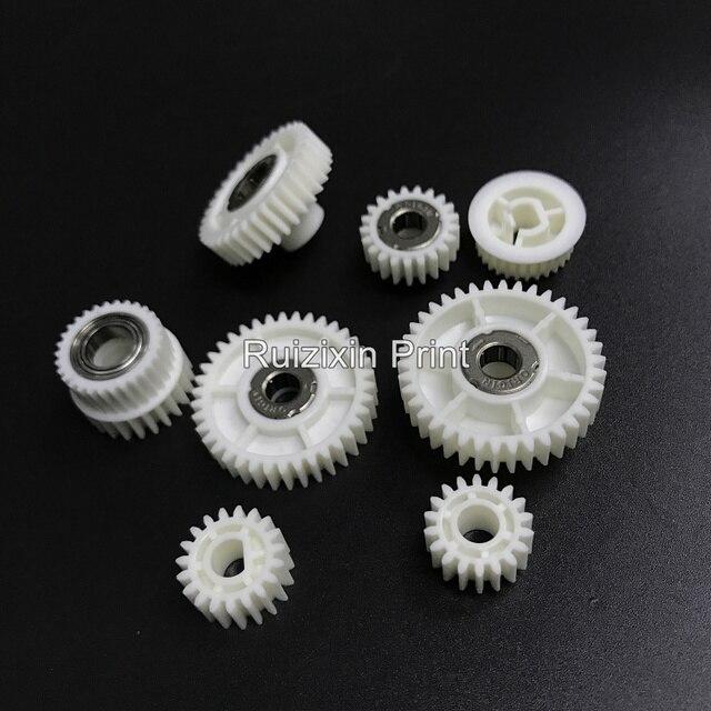 Para Ricoh Aficio 1075 1060 2075 2060 2051 MP7500 MP8001 AF2075 kit de engranaje de bandeja de papel, 8 unid/set de calidad original.