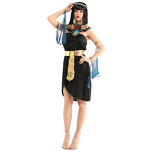 Adult Womens Sexy Egypt Egyptian Queen Cleopatra Costume Halloween Carnival Mardi Gras Party Fancy Dress W-0264