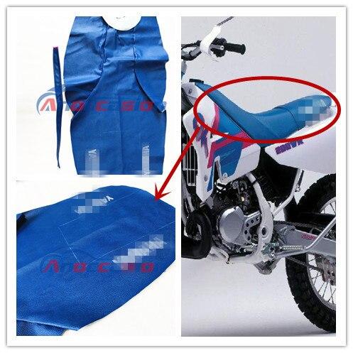 Accesorios de motocicleta para usar para yamaha DT200WR funda de asiento de cuero