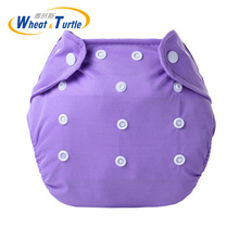 hot deal buy mother kids baby bare cloth diapers 0-3y baby reusable 7 colors adjustable washable breathable diapers cover training shorts