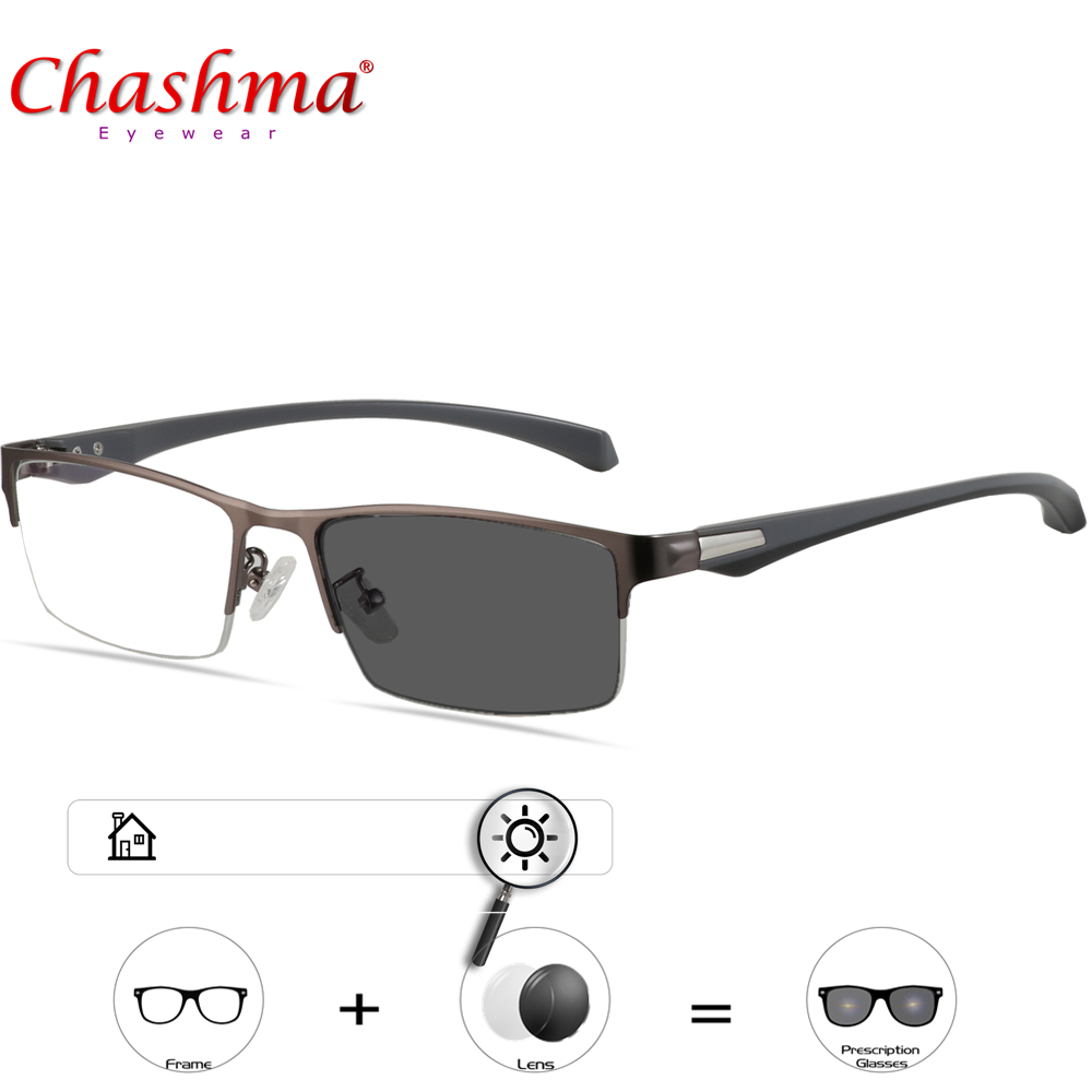 CHASHMA Transition Sunglasses Photochromic Reading Glasses Men Women Presbyopia Eyewear with diopters glasses