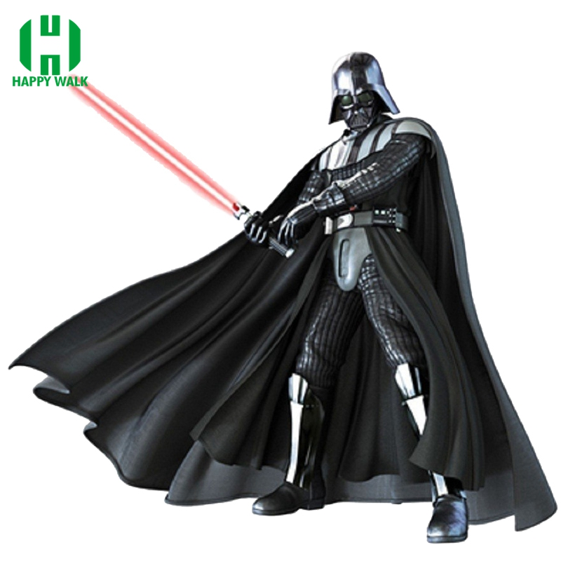 2019 Hot Sale Halloween Party Vuxen Cosplay Kostymer Darth Vader Vuxen Kostym Darth Vader Kostym Med Aurora Sword For Adult