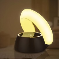 table lamp wireless charger charging for phone qi 3.0 USB iphone X samsung S8 fast quick charge 3.0 auto adapter without wire