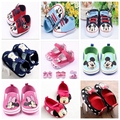 Lovely Cartoon Baby Boys Girl Shoes Micky Minnie Baby First Walkers Toddler Prewalker Bebe Sapatos Cirb Shoes 0-18M