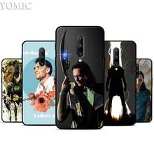 Loki Tom Hiddleston Silicone Case for Oneplus 7 7Pro 5T 6 6T Black Soft Case for Oneplus 7 7 Pro TPU Phone Cover