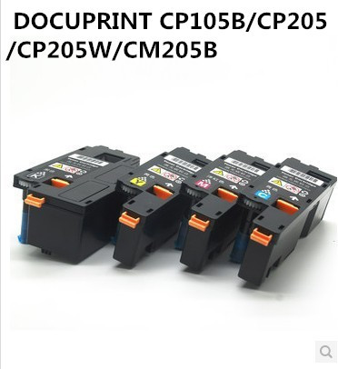 Compatible for XEROX DOCUPRINT <font><b>CP105</b></font>, CP105b, CP205, CP205b, CM205, CM205b, CM205f, CM205fw printer color toner cartridge image