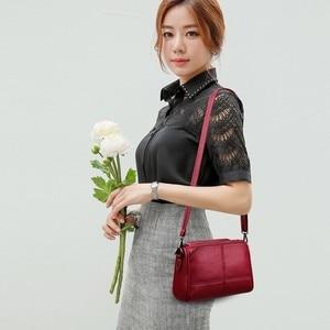 Image 5 - Luxury Handbags Women Bags Designer 2019 Ladies Bag Party Female Leather Shoulder Bag Vintage Women Messenger Bags Sac A Main