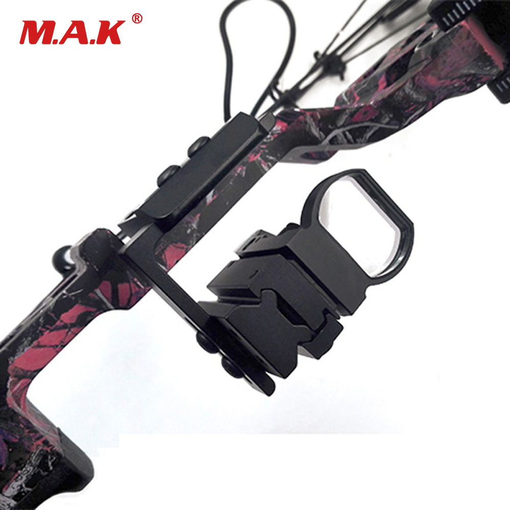 Compound Bow Scope Laser Rail Mount Adapter Steady Set Bow Accessory For Compound And Recurve Bow Archery Hunting Shooting