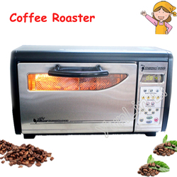 Electric Coffee Roaster 220V 1630W Coffee Beans Roasting Baking Oven Grain Drying 1600PLUS