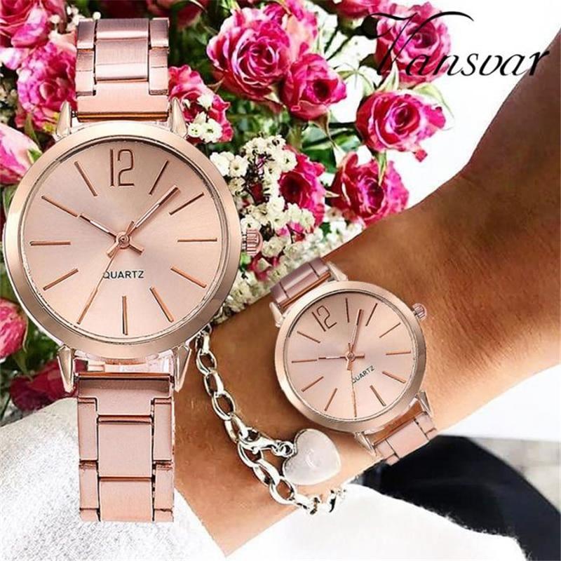 Women Quartz Wrist Watch Elegant Small Dial with Steel Strap Casual Watches IK88Women Quartz Wrist Watch Elegant Small Dial with Steel Strap Casual Watches IK88