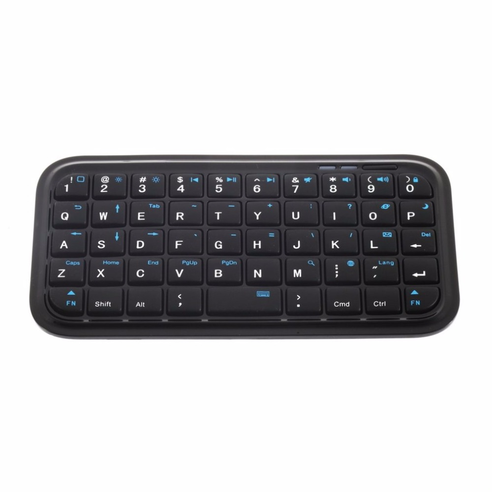 Built-in Rechargeable Li-ion Battery Mini Wireless Bluetooth 3.0 Keyboard For IPad 2/3/4 For IPhone 4S 5 For Android OS PC