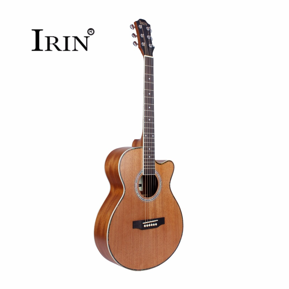 New Guitar 40 Inch Steel-String Acoustic Guitar 6 Strings Missing Angle Rosewood Fingerboard Musical Instruments Professional amola acoustic guitar strings set 010 012 011 pure copper steel 010 047 acoustic wound guitar 1 6th string musical instruments