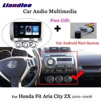 Liandlee Car Android System For Honda Fit 2001~2008 Radio Video Camera Carplay BT GPS Nav Navi MAP Navigation Wifi Multimedia
