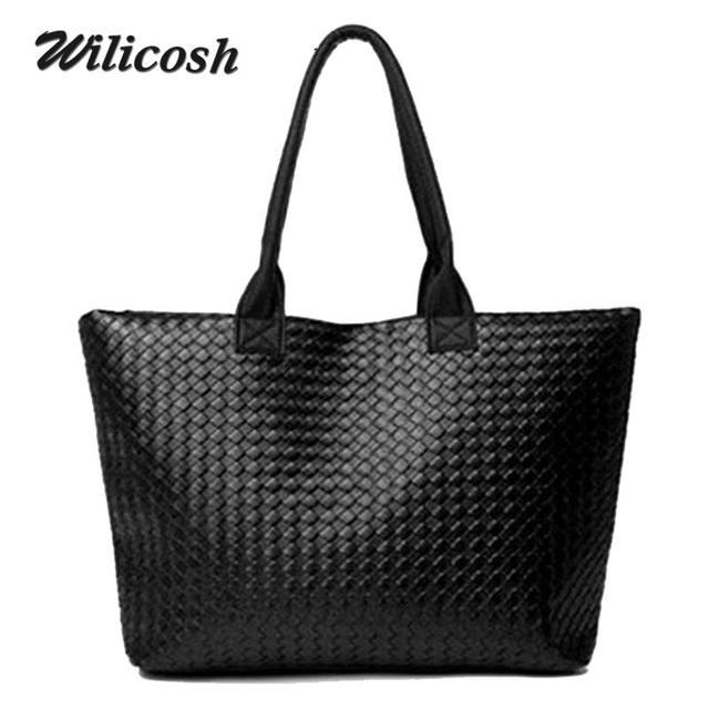 2016 новий дизайн Моди стьобані в'язати жінки сумка повсякденна шкіра PU сумка жінок сумка жінки сумка листоноші сумочки FQ0035