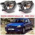 Para Dacia Logan LS 2004-2015 Lámparas Halógenas Antiniebla Delantera Faros antiniebla Car Styling 1 Unidades 35500-63J02 1209177 8200074008