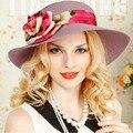 Summer Style Women's Floppy Wide Large Brim Sun Straw Hat Cap For Women Church Hats