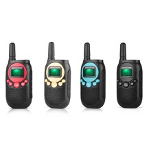 SC-R40 child walkie talkie FRS/GMRS License free two way radio 0.5W 22CH VOX with privacy code & rechargeable battery 4pieces