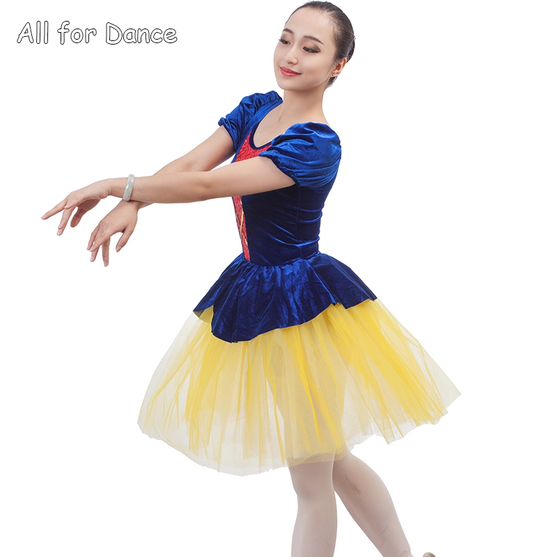 snow white and the dwarfs ballet dance costume dance dress for child