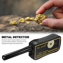 Detector de Metales subterráneo de alta sensibilidad, ajustable, TX 2002, de largo alcance