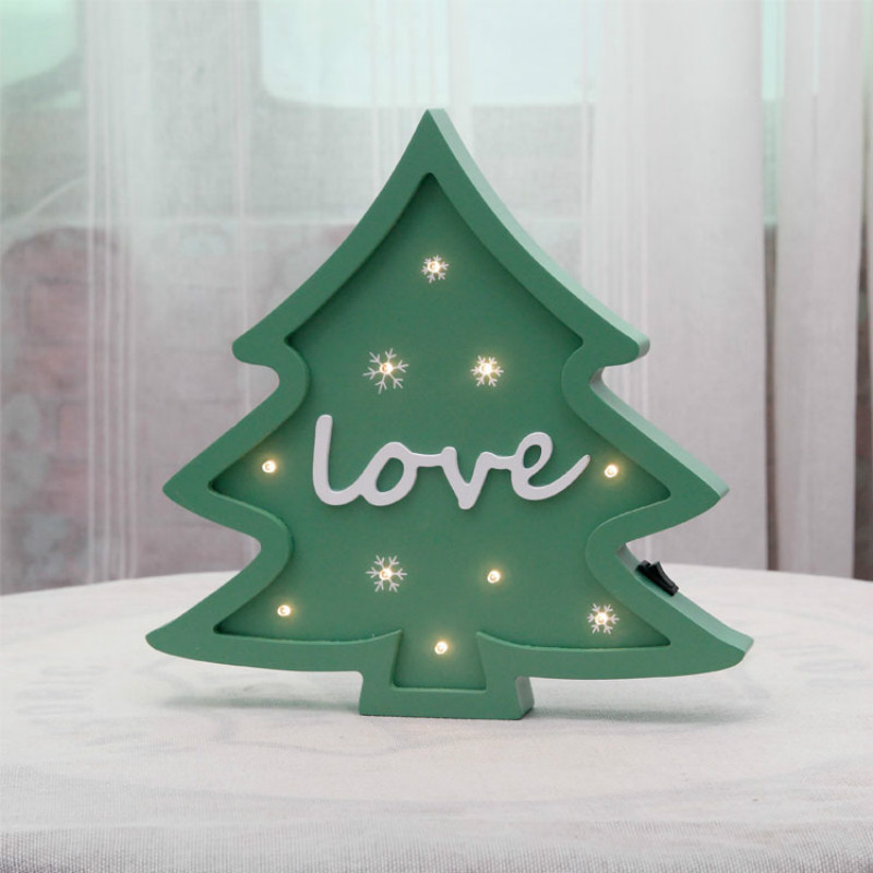 Christmas Tree Modeling light Xmas Decoration light as gift Home Baby - Holiday Lighting