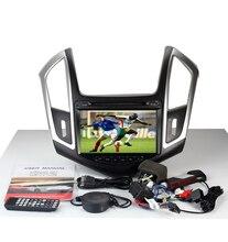 Mayor velocidad 512 Mb RAM WINCE MTK3360 6.0 reproductor de DVD del coche 1080 P gps fit para Chevrolet Cruze 2013 2014 mapa de navegación de RADIO bluetooth
