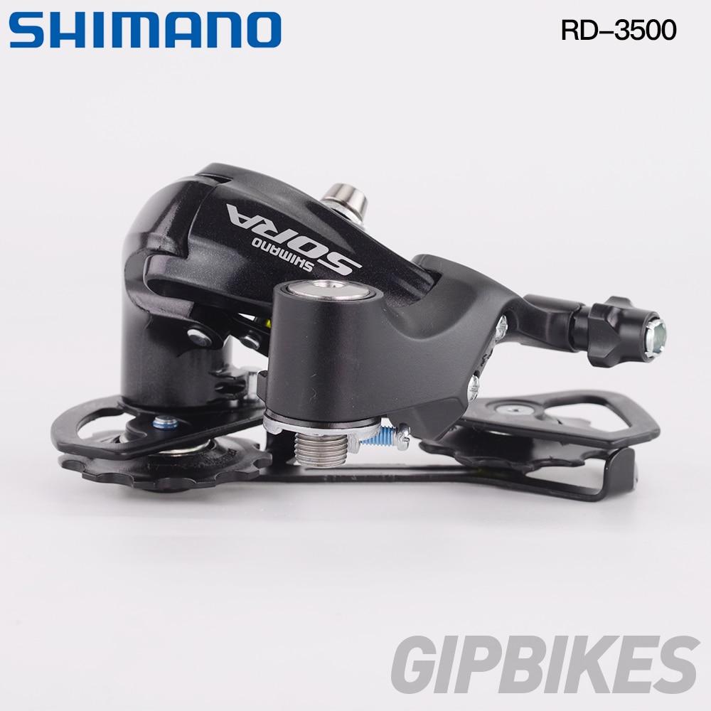 Shimano Sora RD-3500 GS//SS 9S Rear Derailleur Medium Cage//Short Cage Road Bike