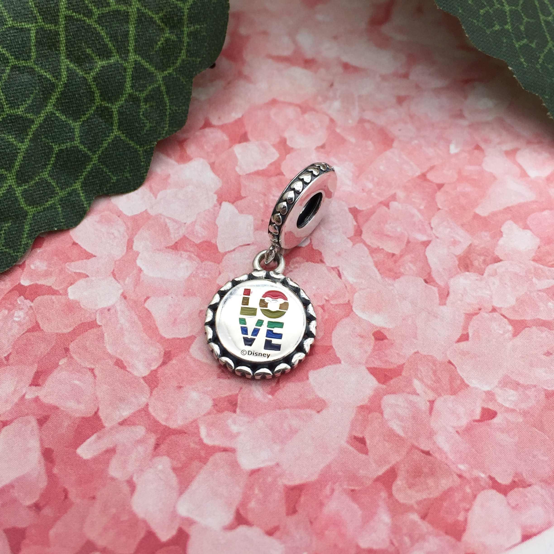 Каканы стерлингового серебра 925 Классический парк радуга животное Подвеска Шарм подходит Пандора браслет Diy Ювелирные изделия Бесплатная доставка