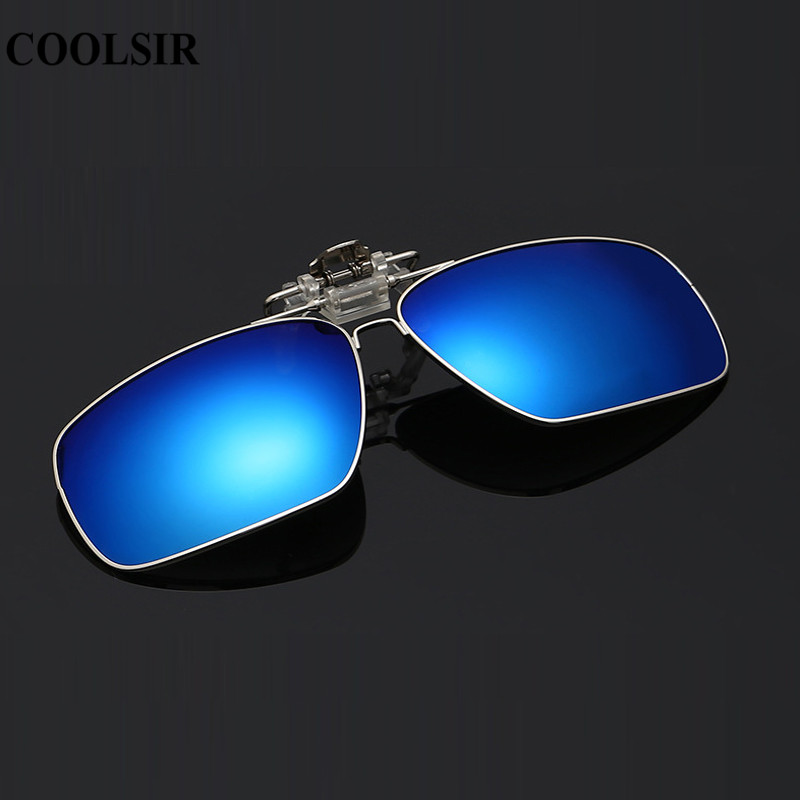 COOLSIR Man Brand Design Polarized flip-up small square driving mirror colorful sunglasses C3024 Gafas oculos Spectacles #1118