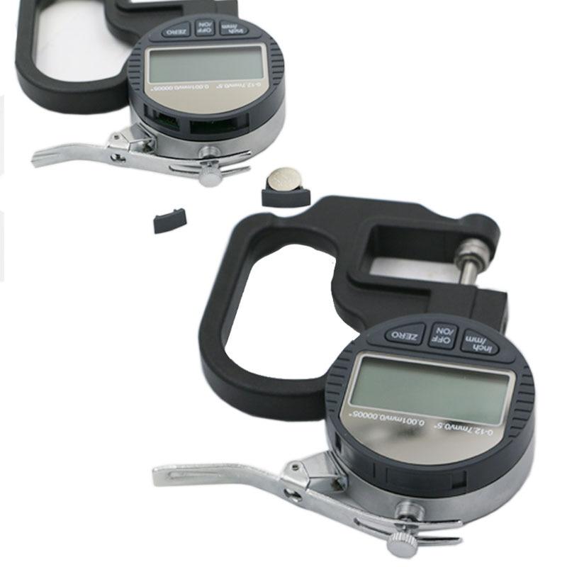 0,001 mm elektroninis storio matuoklis 10 mm skaitmeninis mikrometro - Matavimo prietaisai - Nuotrauka 4