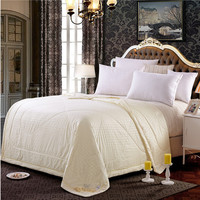 new arrive summer natural silk quilt comforter air conditioning sofa blanket 150x200cm 180x220cm 200x230cm