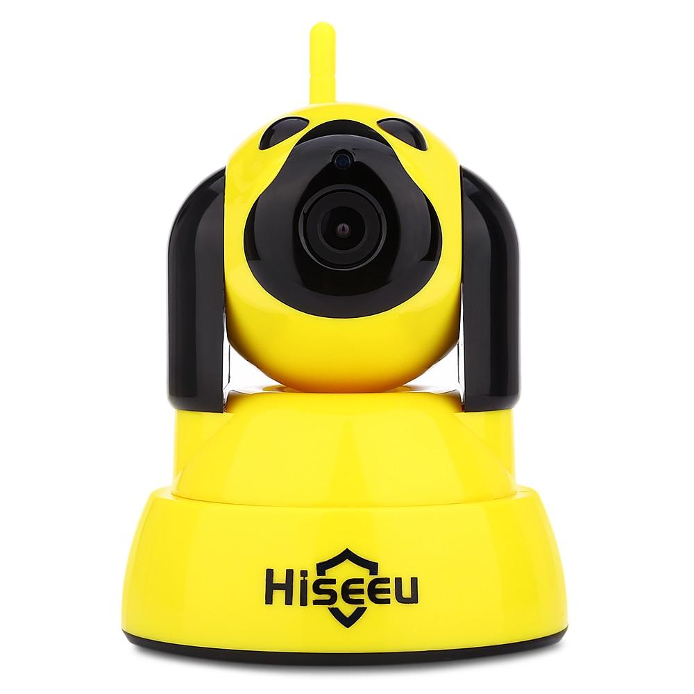 Hiseeu HSY-FH4 720P Indoor IP Security Camera WiFi IR CUT Dog Type Surveillance Camera With 10pcs IR LED Motion Detection корм rocky мясное ассорти птица печень 100g для собак 81004