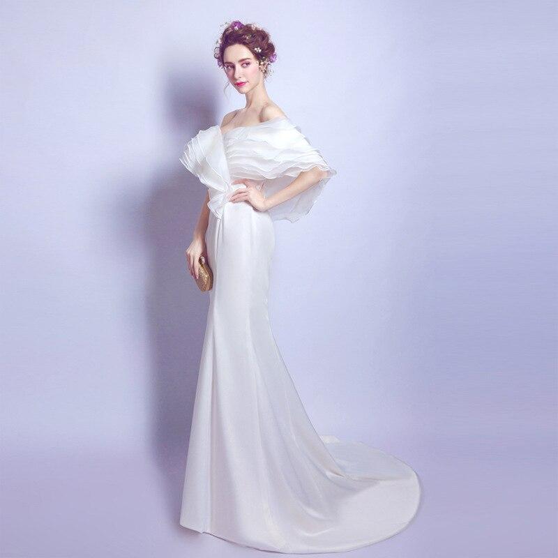 Свадебное платье сексуальный стиль рыбий хвост и хвост невесты свадебное платье для беременных Фотография одежда Беременность вечерние пл