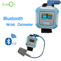 Bluetooth 4.0 Wrist pulse oximeter Digital pulse meter SPO2 oximetro de dedo pulso Blood Oxygen saturation for IOS & Android