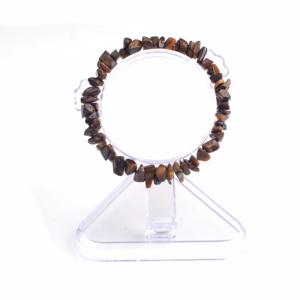 Summer Bracelet Multicolor Natural Stone Chips Single Strand Women Bracelets Tiger Eye Reiki Lovers Gift 6