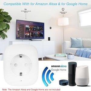 Image 3 - 2019 החדש Wifi תקע שקע שקע חשמל עבור מכשירי חשמל לבית חכם טלוויזיה תנור קפה מכונת LED אור עבודה עם חכם חיים App