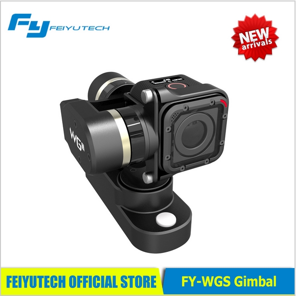 ФОТО newest feiyu wgs 3-axis brushless wearable gimbal for gopro 4 3+ 3 aee xiaoyi sports camera pk fy-g4 gimbal fast shipping