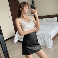 Tank Top Lace Crop Top Women Camis Halter Top Women Camisole Summer Sexy Sleeveless Slim Roupas Femininas cropped chemise femme velevet lace trimmed cropped tank top