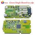 Frete grátis Qualidade A + 2015. r3 livre ativado única placa verde TCS pro plus sem Bluetooth OBD2 OBDII ferramenta de diagnóstico auto