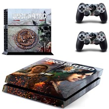 UNCHARTED:The Lost Legacy of PS4 Skin Sticker for Sony Playstation 4 Console and Controller