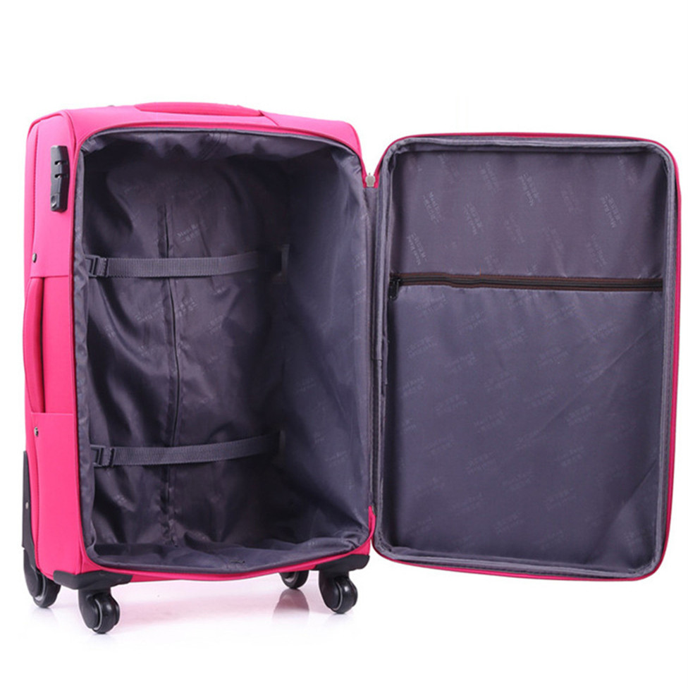 20 inch Men Rolling Luggage Spinner Travel Bag Suitcases Wheel Trolley Business Carry On luggage Women password Trunk