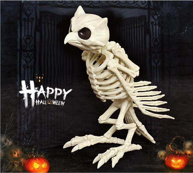 High quality simulation animal skeleton model Night Owl ...