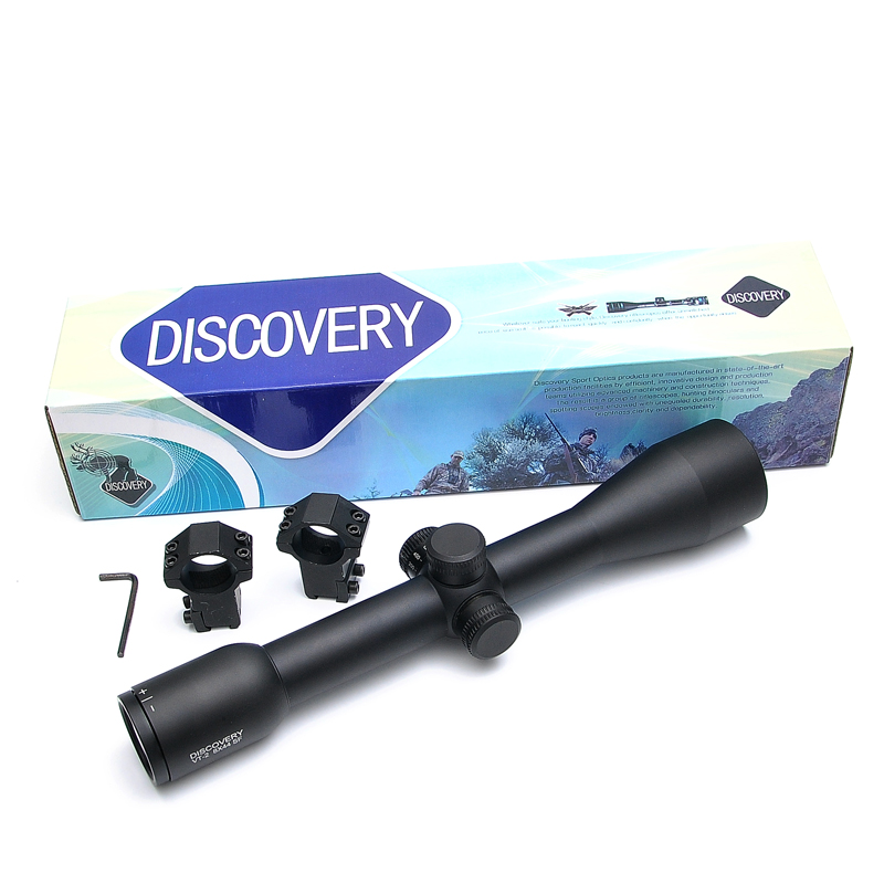 Discovery VT-2 8X44 SF Optical Sight Riflescope Tactical Gear Red And Green Illuminated Sight Rifle Scope Mounts жаровня scovo сд 013 discovery
