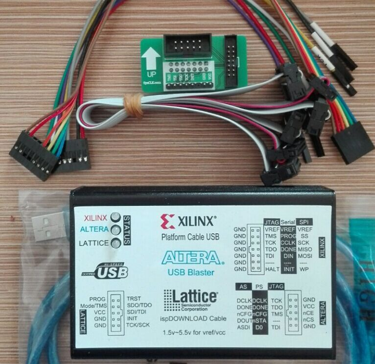 Xilinx Download Line ALTERA LATTICE3 1USB New Program Burning And Writing FPGA CPLD Downloader