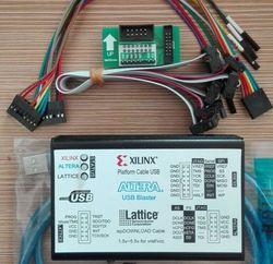 Xilinx línea de descarga ALTERA LATTICE3 1USB nuevo programa de grabación y escritura FPGA CPLD Downloader