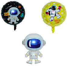 Wandering Earth Space Theme Boy Birthday Party Decoration Balloons Giant Rocket Balloons Globos Boy Big Toys space astronaut toy kids baby shower decoration for boy birthday party supply giant rocket balloons globos