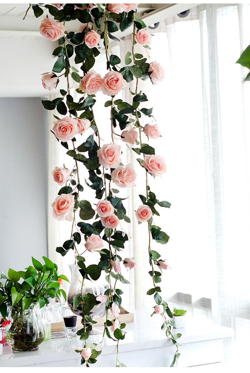 Aliexpress Buy Australia 18m Silk Rose Flower Vine Top