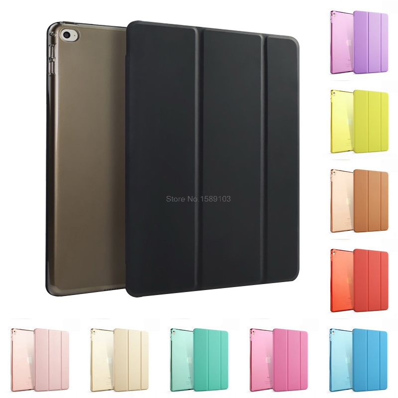 New Slim Fit Case For iPad Air With Auto Wake up/Sleep Light Weight PU Leather Trifold Stand Smart Cover Coque Funda philips hf350570 wake up light световой будильник